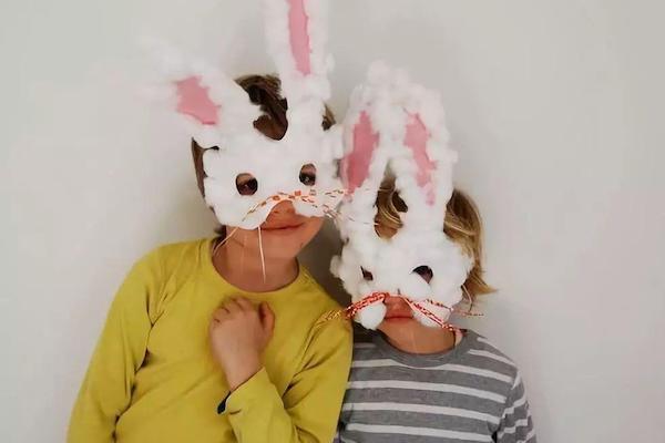 Máscara de coelho: como fazer um modelo fácil para seu filho!