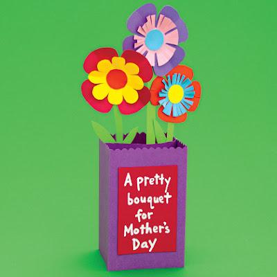 Especial Dia das Mães: cartão de flores para a mamãe!