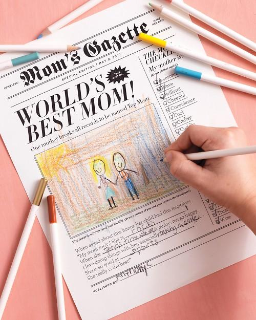 Especial Dia das Mães: Jornalzinho de presente!