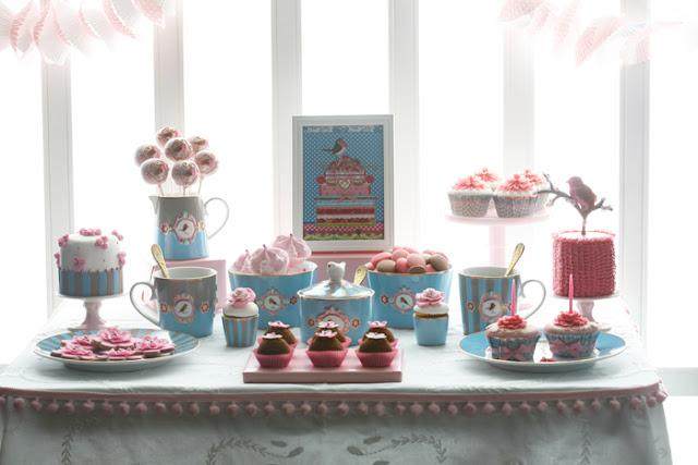 Decoração de Dia das Mães (ou para um chá de aniversário para a filhotinha!)