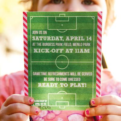 Festa futebol para menina: para meninas cheias de atitude!