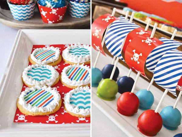 Cakepops festa tema pirata