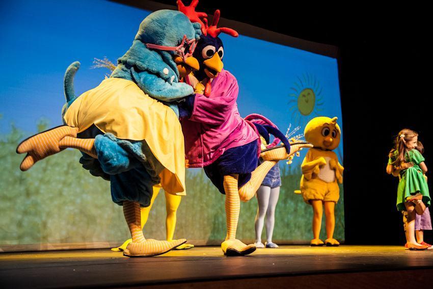 Ganhe ingressos para o musical da Galinha Pintadinha!