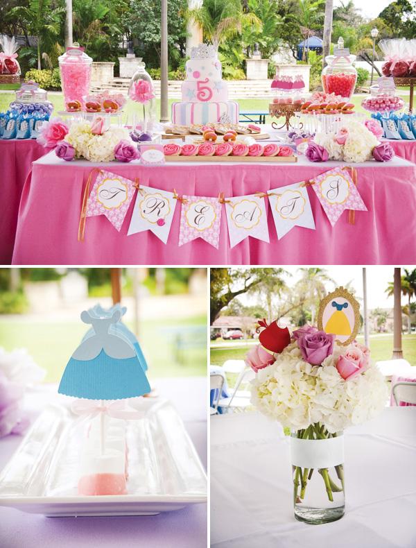 Festa das princesas: um dos temas preferidos das meninas ...
