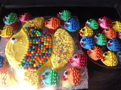 bolo peixinho