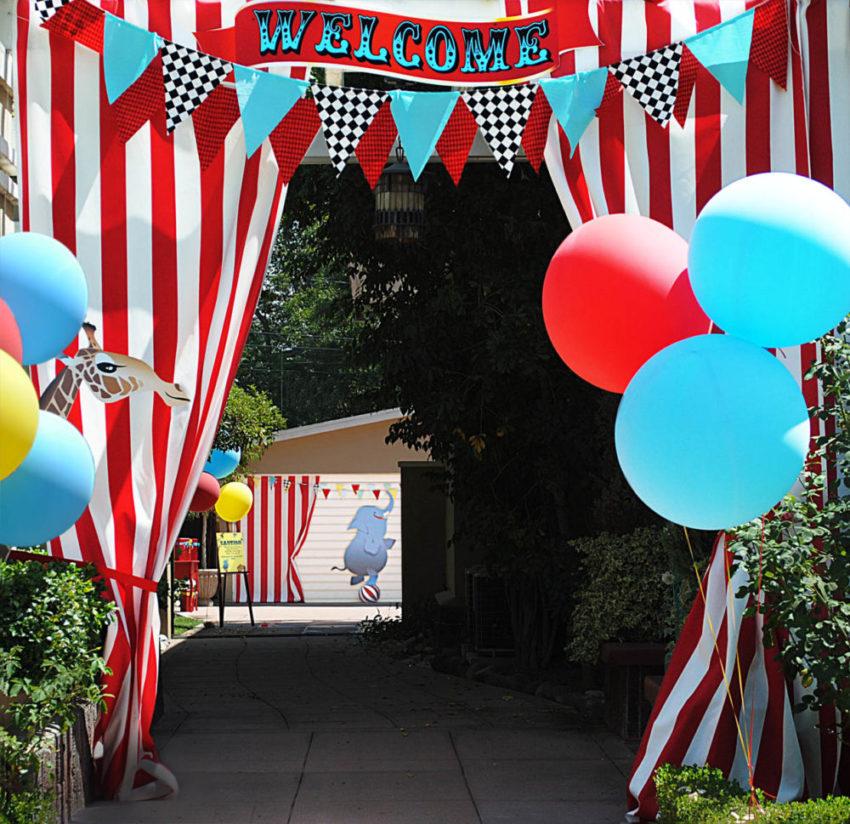 Festa Circo – Decoração, Centro de mesa e Lembrancinha