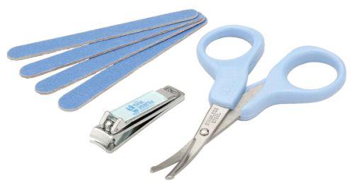 tesoura e cortador de unhas para bebê