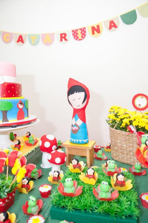 chapeuzinho vermelho decoração festa