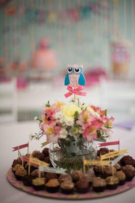 doces festa corujinhas