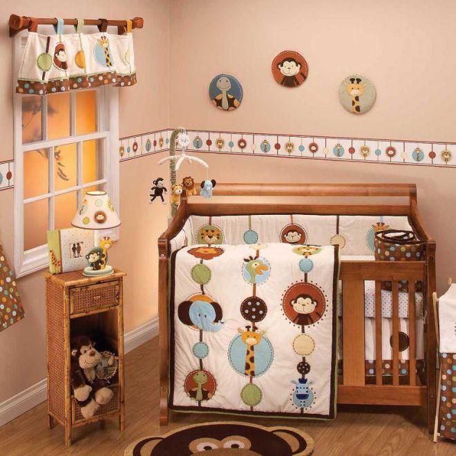 quarto de bebe meninos bichinhos safari