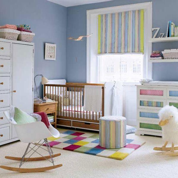 quarto menino bebe colorido