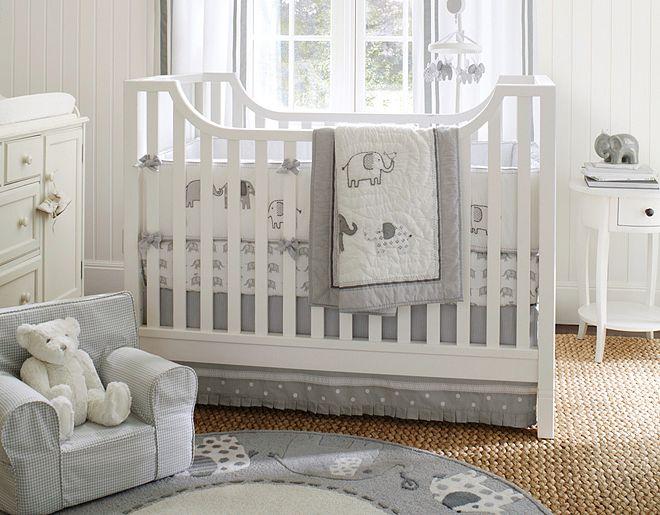 quarto de bebe menino elefante