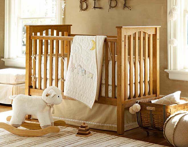 quarto de bebe menino rustico