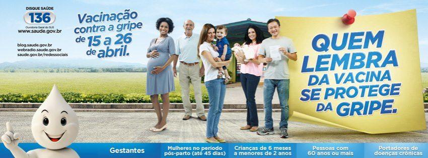Vacinação contra gripe 2013: participe!!!