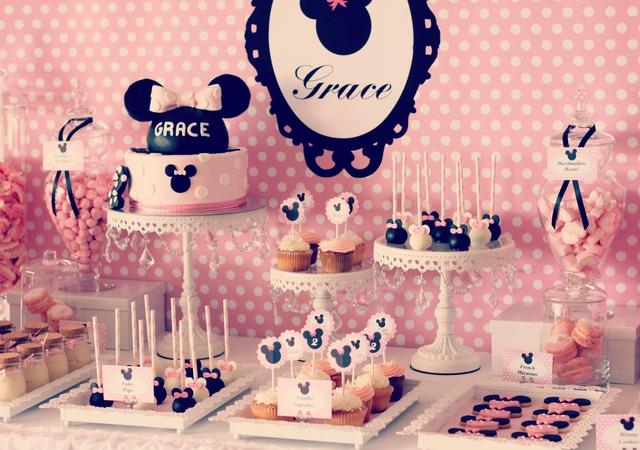 festa da Minnie decoração