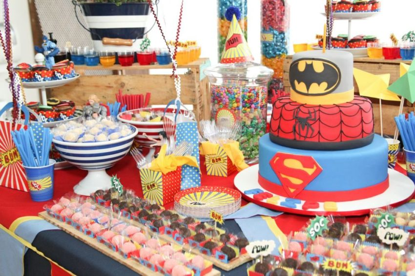 Festa dos Super-Heróis!