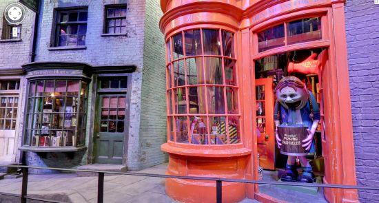 O mundo de Harry Potter no Google Maps