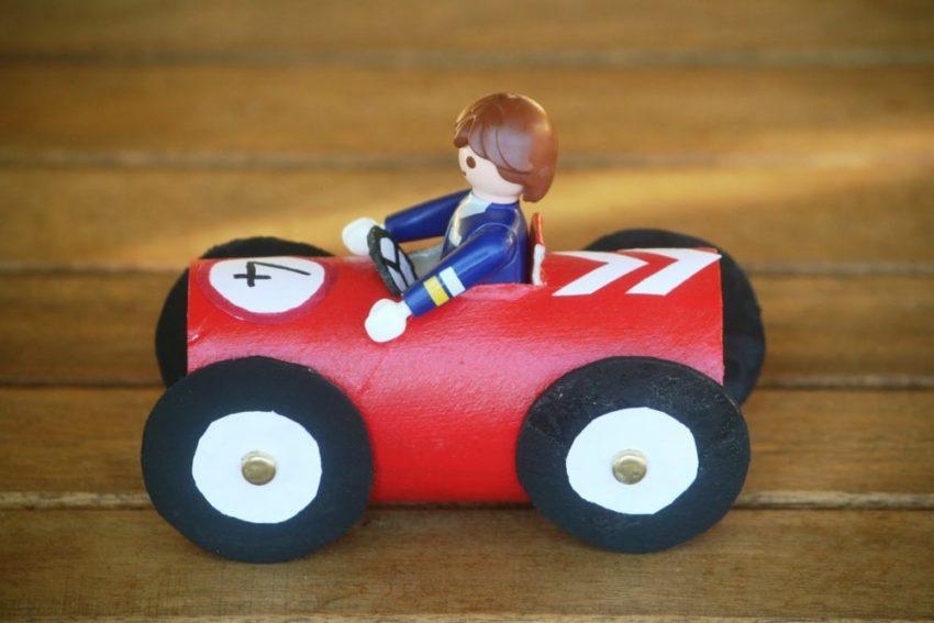 Как сделать автомобиль своими руками для ребенка