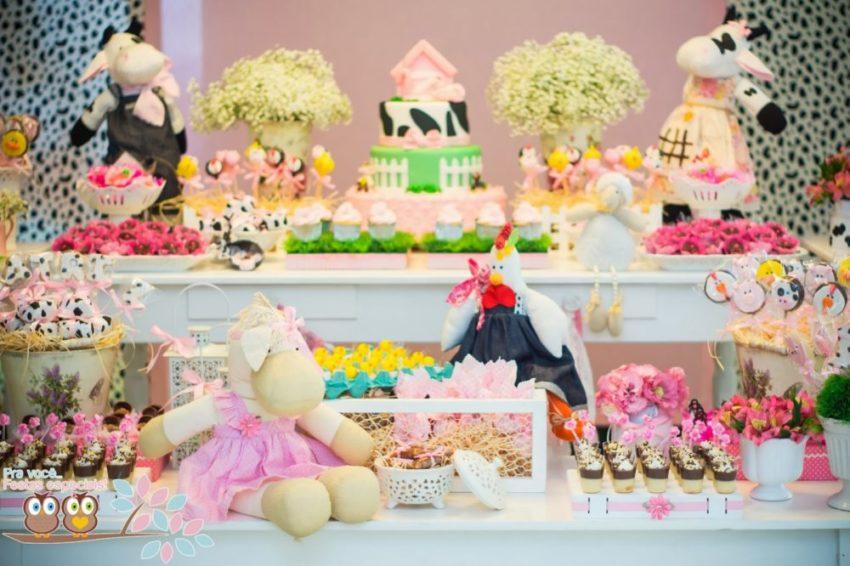 Festa fazendinha rosa: especial para meninas!