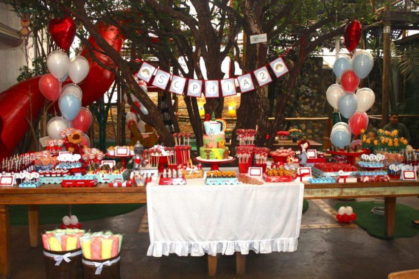 Mesas de festa infantil: veja como decorar a sua! #AB2520 1600x1066
