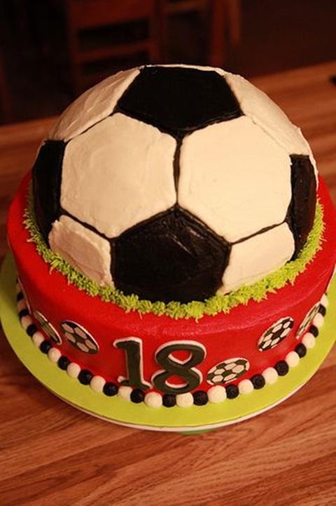 bolo de aniversario bola