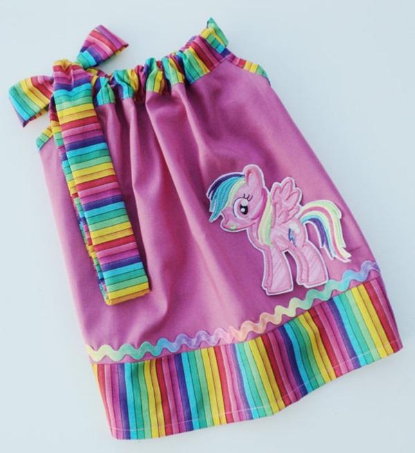 vestido meu pequeno ponei