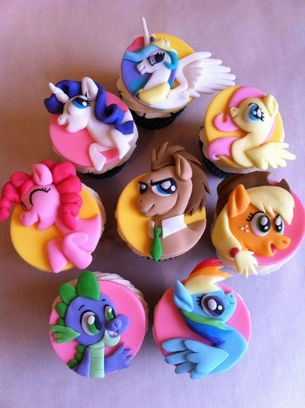 cupcakes meu pequeno ponei
