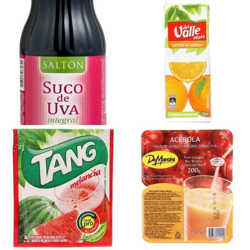 Suco, néctar e refresco: conheça as diferenças e acerte na escolha!