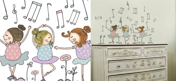 5 ideias para quarto de bebê bailarina