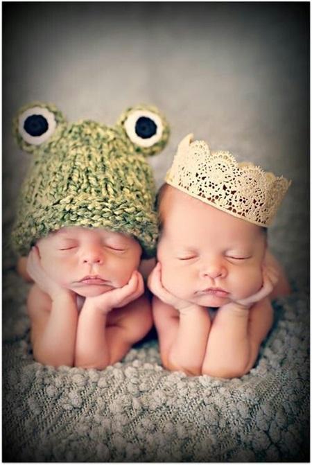 A princesa e o sapo! Gêmeos!