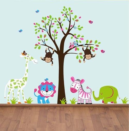 adesivo de árvore