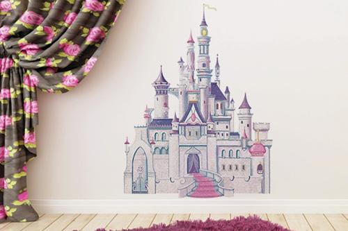 adesivo quarto de princesa