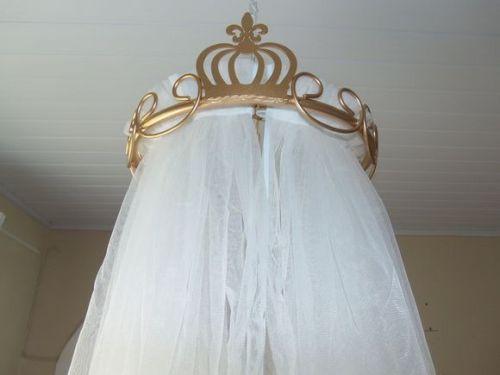 dossel mosquiteiro quarto de princesa