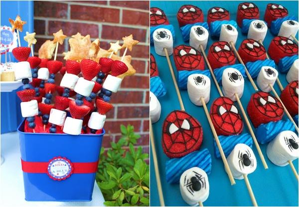 Festa Homem Aranha: mais de 70 novas ideias de arrasar!