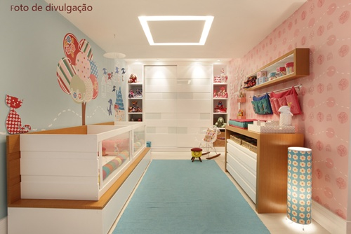 Lindas ideias de quartos de casal para gêmeos