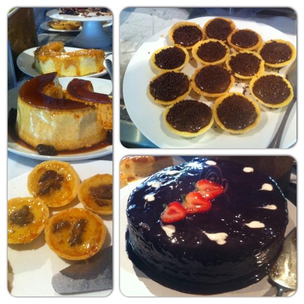 Foto do nosso Instagram: as sobremesas (M-A-R-A-V-I-L-H-O-S-A-S) do Restaurante Sete Mares