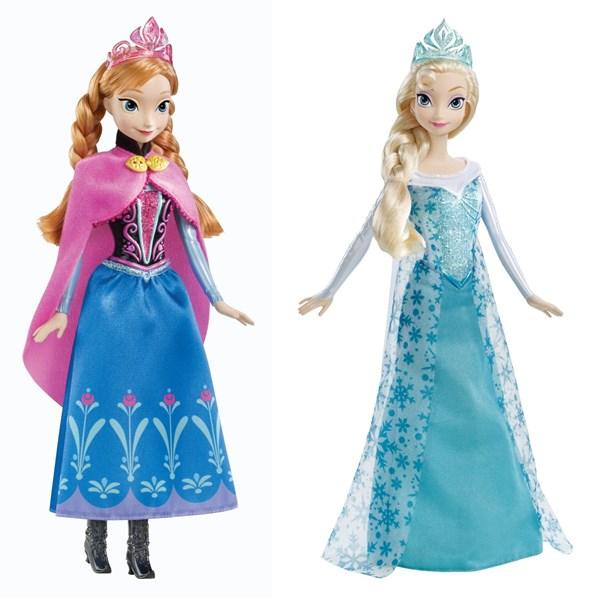 boneca frozen elsa-anna