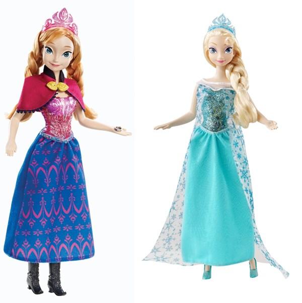 bonecas frozen elsa anna musical