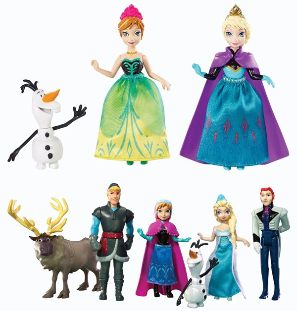 bonecas frozen kit elsa anna