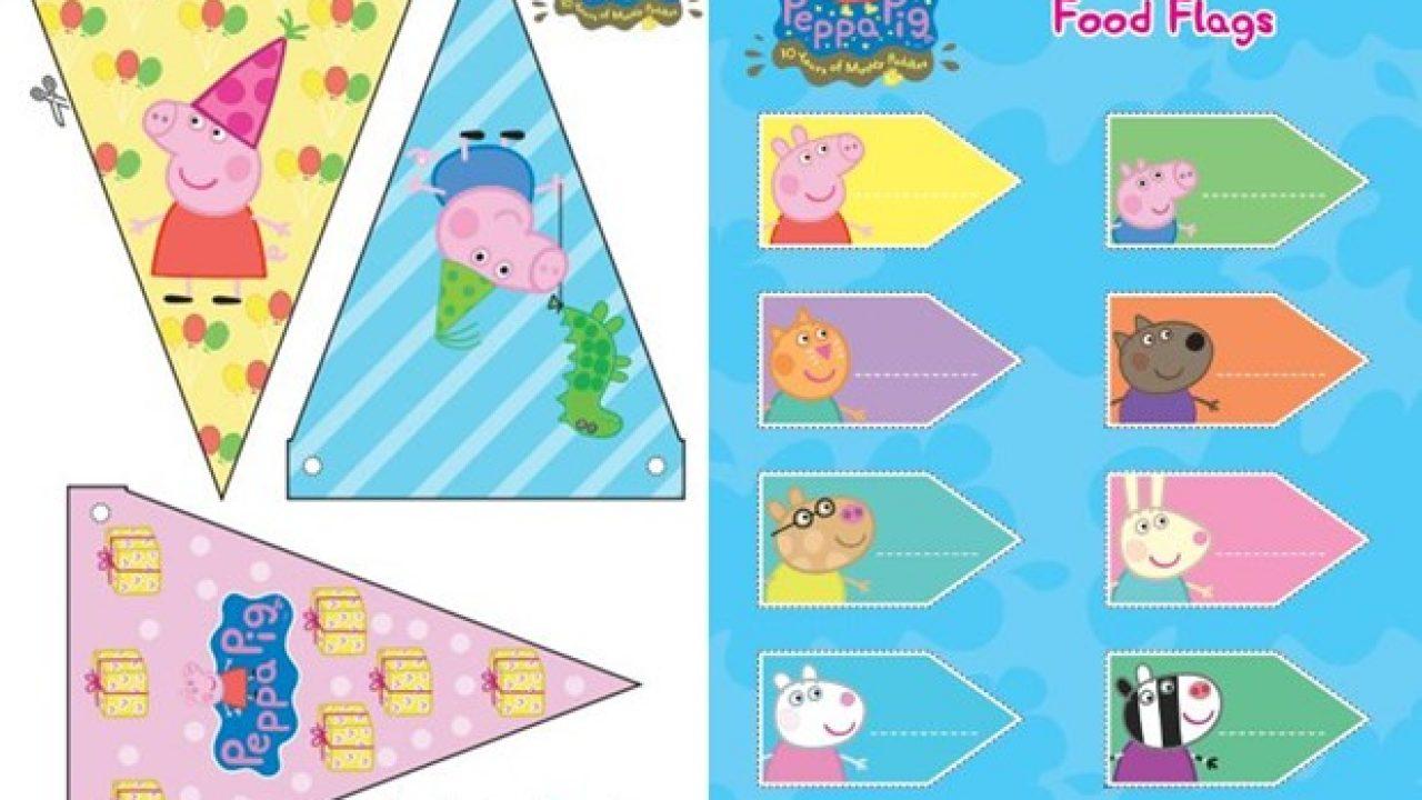 Festa Peppa Pig Para Imprimir Gratis Mil Dicas De Mae