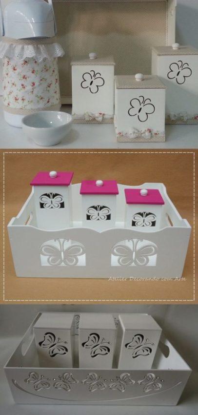 Kit higiene borboleta