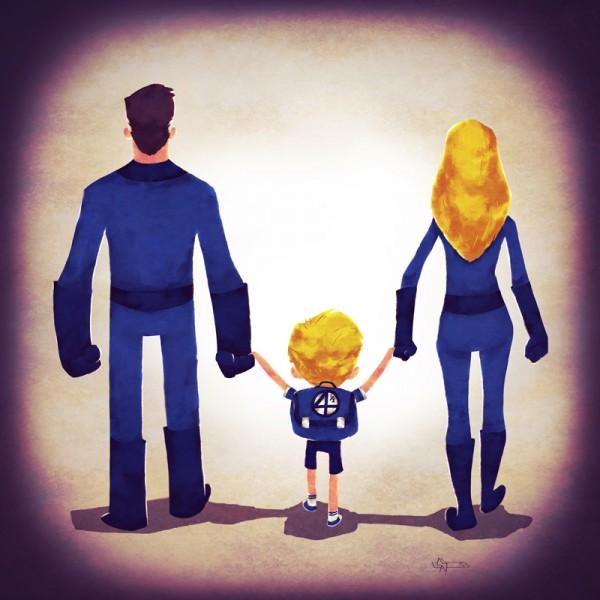 Família Fantástica (do Quarteto Fantástico)