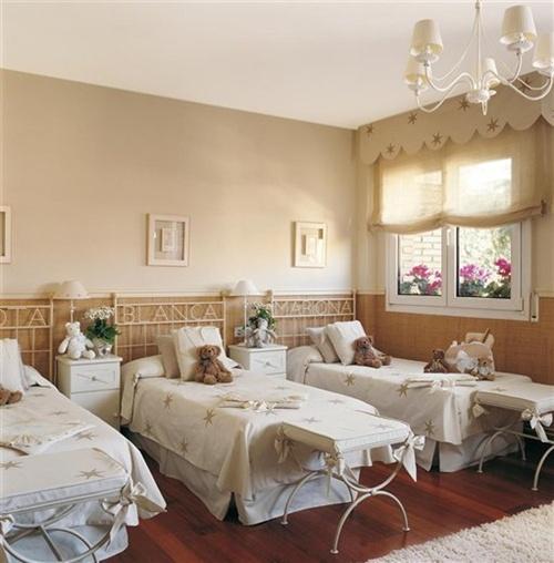 ? Decoração de quarto para irmãs 14 ideias para sonhar  ~ Quarto Planejado Para Gemeas
