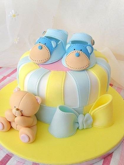 Bolos para Chá de Bebê: 35 modelos incríveis!