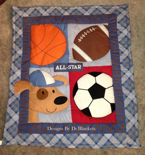 7 ideias para um quarto de bebê com tema esportes!