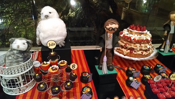 Festa Harry Potter da Julia