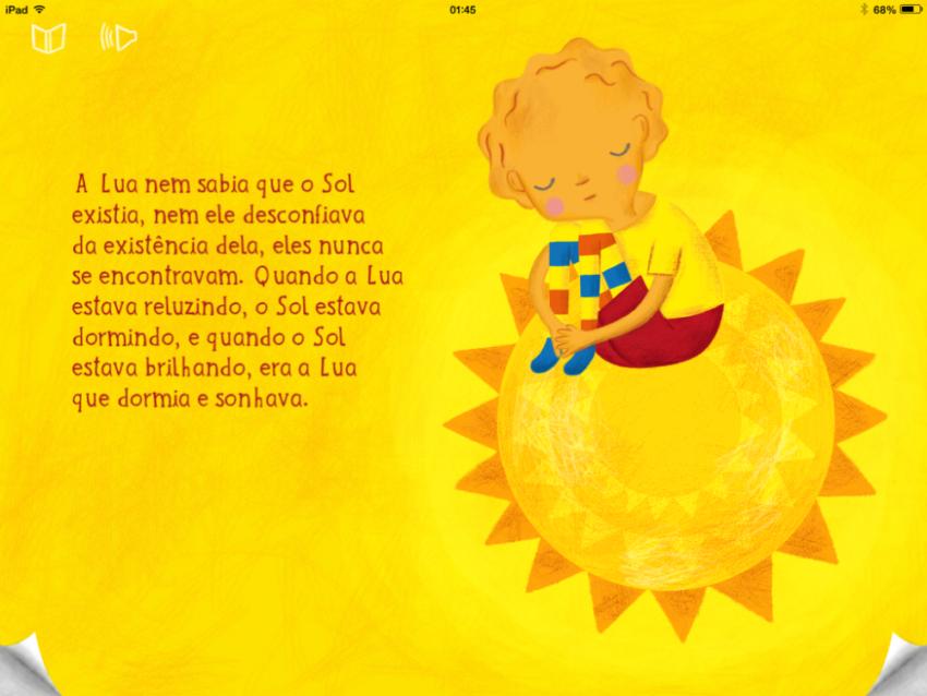 Dica de livro para iPad: Lua e Sol : ᐅ Mil dicas de mãe