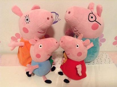 Compre os bonecos da Peppa e família Pig no Brasil