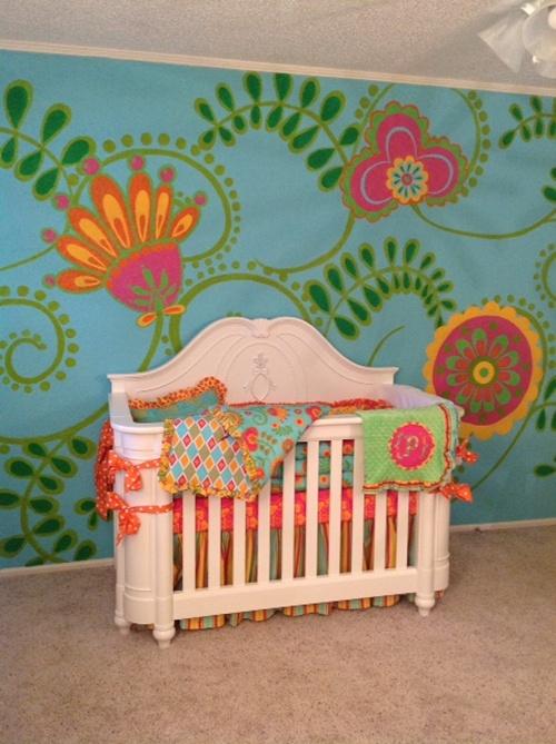 Decoracao De Quarto Pequeno Colorido ~ Quarto de beb? colorido 25 lindas ideias!  Mil dicas de m?e