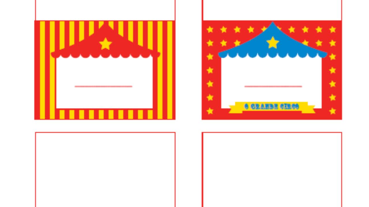 Festa Circo Para Imprimir Gratis Mil Dicas De Mae